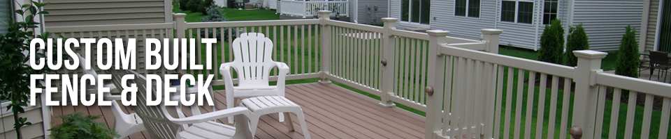 Custom Built Fence & Deck